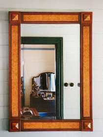 Photograph of decorative mirror